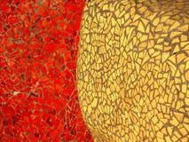 Λαμπρά χρωματισμένα κεραμίδια μωσαϊκών στοκ εικόνα