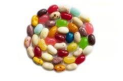 Λαμπρά χρωματισμένα φασόλια καραμελών Ζωηρόχρωμο φασόλι ζελατίνας Στοκ φωτογραφίες με δικαίωμα ελεύθερης χρήσης