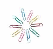 λαμπρά χρωματισμένο συνδ&epsilon Στοκ Εικόνα