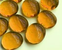 λαμπρές πέτρες γυαλιού κίτρινες στοκ φωτογραφία με δικαίωμα ελεύθερης χρήσης