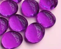 λαμπρές πέτρες γυαλιού στοκ εικόνες