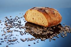 λαμπρή επιφάνεια ψωμιού στοκ εικόνες