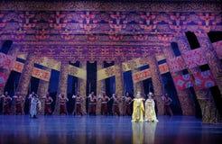 Λαμπρή κουρτίνα δυναστεία-ουρών του Tang: ` Δρόμος ` μεταξιού - επική πριγκήπισσα ` μεταξιού δράματος ` χορού στοκ εικόνες με δικαίωμα ελεύθερης χρήσης