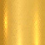 Λαμπρή μεταλλική χρυσή σύσταση Στοκ Φωτογραφία