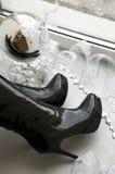 λαμπρή σφαίρα καθρεφτών στοκ φωτογραφία με δικαίωμα ελεύθερης χρήσης