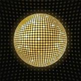 Λαμπρή σφαίρα disco ελεύθερη απεικόνιση δικαιώματος