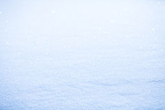 Λαμπρό χιόνι Στοκ Φωτογραφία