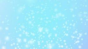 λαμπρός ακτινοβολήστε στο μπλε υπόβαθρο - αφηρημένη ορισμένη σκηνικό έννοια διακοπών απεικόνιση αποθεμάτων
