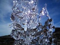 Λαμπρός πάγος Στοκ φωτογραφία με δικαίωμα ελεύθερης χρήσης