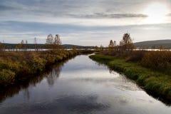 Λαμπρός ποταμός Στοκ φωτογραφίες με δικαίωμα ελεύθερης χρήσης