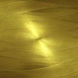 Λαμπρός χρυσός τοίχος ανασκόπηση χρυσή ελεύθερη απεικόνιση δικαιώματος