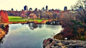 Λαμπρότητα της Νέας Υόρκης Central Park Στοκ εικόνες με δικαίωμα ελεύθερης χρήσης