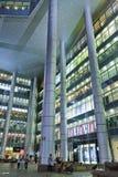 Λαμπρότητα Shimao διεθνές Plaza τη νύχτα, Σαγκάη Κίνα Στοκ Φωτογραφία