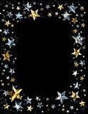 λαμπρό αστέρι πλαισίων διανυσματική απεικόνιση