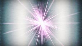 Λαμπρό αφηρημένο υπόβαθρο μετάλλων με ένα starburst στοκ φωτογραφίες με δικαίωμα ελεύθερης χρήσης