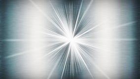 Λαμπρό αφηρημένο υπόβαθρο μετάλλων με ένα starburst στοκ εικόνα