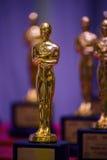 Λαμπρό κομψό χρυσό βραβείο Στοκ φωτογραφία με δικαίωμα ελεύθερης χρήσης