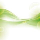 Λαμπρό πράσινο εικονίδιο υποβάθρου ταπετσαριών κυμάτων σαν διανυσματικά κύματα στροβίλου ανασκόπησης διακοσμητικά γραφικά τυποποι ελεύθερη απεικόνιση δικαιώματος