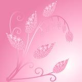 Λαμπρό ρόδινο flover Διανυσματική απεικόνιση