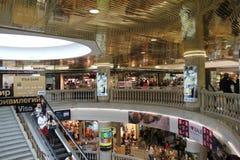 Λαμπρό σχέδιο суперсмаркета στους γκρίζους τόνους Στοκ Εικόνα