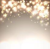 Λαμπρό υπόβαθρο πτώσης Χριστουγέννων Στοκ εικόνα με δικαίωμα ελεύθερης χρήσης