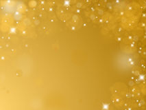 Λαμπρό χρυσό υπόβαθρο Στοκ Εικόνες