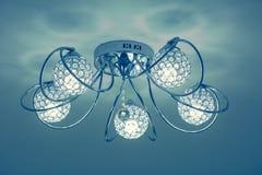 Λαμπτήρας εσωτερικού φωτισμού πολυτέλειας Στοκ Εικόνες