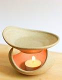Λαμπτήρας και κερί Aromatherapy Στοκ Εικόνα