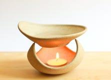 Λαμπτήρας και κερί Aromatherapy Στοκ φωτογραφία με δικαίωμα ελεύθερης χρήσης