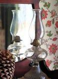 Λαμπτήρας κηροζίνης γυαλιού Στοκ εικόνα με δικαίωμα ελεύθερης χρήσης