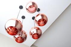 Λαμπτήρας κρεμαστών κοσμημάτων χαλκού Στοκ φωτογραφίες με δικαίωμα ελεύθερης χρήσης