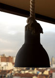 Λαμπτήρας με το σχοινί Στοκ φωτογραφία με δικαίωμα ελεύθερης χρήσης