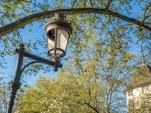 Λαμπτήρας οδών στο Annecy, Γαλλία Στοκ φωτογραφία με δικαίωμα ελεύθερης χρήσης