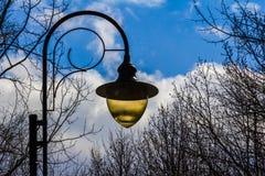 Λαμπτήρας πάρκων Στοκ φωτογραφία με δικαίωμα ελεύθερης χρήσης