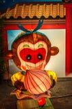Λαμπτήρας που σχεδιάζεται διακοσμητικός ως κούκλα Στοκ Εικόνα