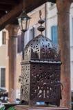 λαμπτήρας σιδήρου παλαιός Στοκ Φωτογραφία
