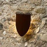 Λαμπτήρας τοίχων, ασπίδα, μαλακό φως, Ιταλία Στοκ φωτογραφία με δικαίωμα ελεύθερης χρήσης
