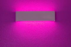 Λαμπτήρας τοίχων με την ελαφριά σκιά Στοκ εικόνα με δικαίωμα ελεύθερης χρήσης