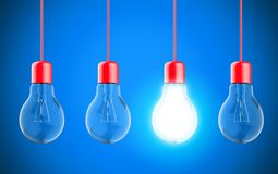 Λαμπτήρες λαμπών φωτός στοκ εικόνες με δικαίωμα ελεύθερης χρήσης