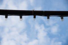 Λαμπτήρες σχοινιών Στοκ Φωτογραφίες