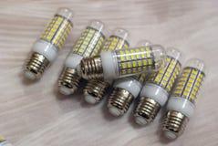 Λαμπτήρες φωτισμού οδηγήσεων στοκ εικόνα με δικαίωμα ελεύθερης χρήσης