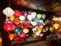 Λαμπτήρες Handcrafted στο Βιετνάμ στοκ φωτογραφία