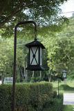 Λαμπτήρες Steet στον κήπο Στοκ Εικόνες