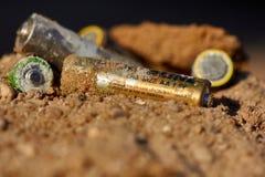 Λανθασμένη διάθεση των μπαταριών Στοκ φωτογραφίες με δικαίωμα ελεύθερης χρήσης