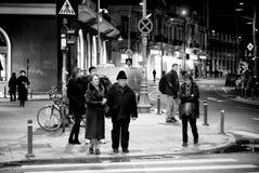 Λαοί του Βουκουρεστι'ου Στοκ φωτογραφία με δικαίωμα ελεύθερης χρήσης