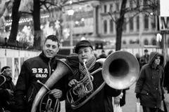 Λαοί του Βουκουρεστι'ου Στοκ εικόνα με δικαίωμα ελεύθερης χρήσης