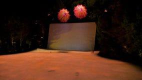 Λας Βέγκας, 07.2017 ΗΠΑ-Νοεμβρίου: Η φωτεινή λίμνη των ονείρων παρουσιάζει απόθεμα βίντεο