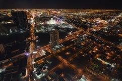 Λας Βέγκας, Λας Βέγκας, μητροπολιτική περιοχή, μητρόπολη, εικονική παράσταση πόλης, ουρανοξύστης Στοκ Εικόνα