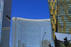 Λας Βέγκας - ξενοδοχείο και χαρτοπαικτική λέσχη της Aria Στοκ φωτογραφία με δικαίωμα ελεύθερης χρήσης