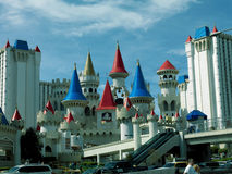 Λας Βέγκας - ξενοδοχείο της Disney - η οδός Στοκ εικόνα με δικαίωμα ελεύθερης χρήσης